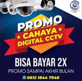 Promo cctv bisa 2x bayar