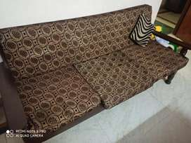 Woden sofa