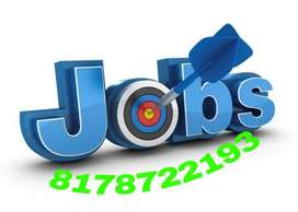 We have a urgently need of male/female candidates