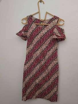 Dress Batik No Brand