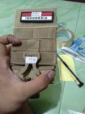 Sarung HP Pinggang Indonesian Flag Tactical 02 ZHS