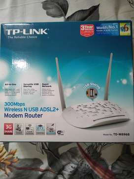 TP-LINK ADSL2+ WIRELESS 300Mbps modem Router