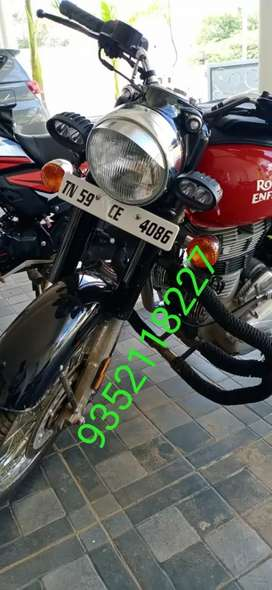 Good condition Royal Enfield 2019 model sale