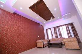 newly builtup 2bhk furnished ready to move flat in sec125 kharar moh.
