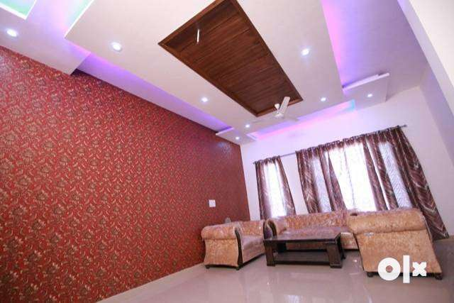 newly builtup 2bhk furnished ready to move flat in sec125 kharar moh. 0