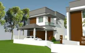 3BHK Limited Edition Luxury Villas | Near Olavakode Railway Station