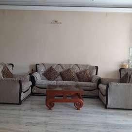 Sofa set with foam