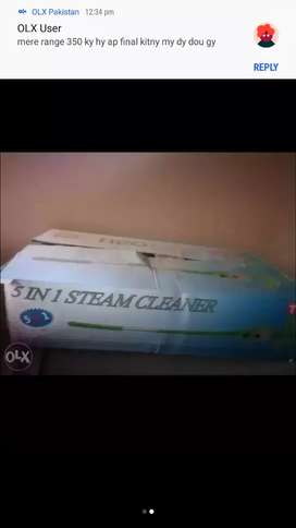 Steamer machine for sale Like new Condition