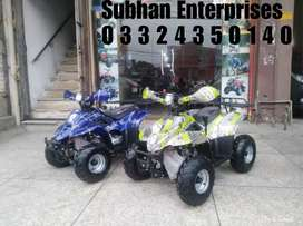 Brand New Quad Atv 4 Wheel Petrol Bike 6 Number Size Available Here