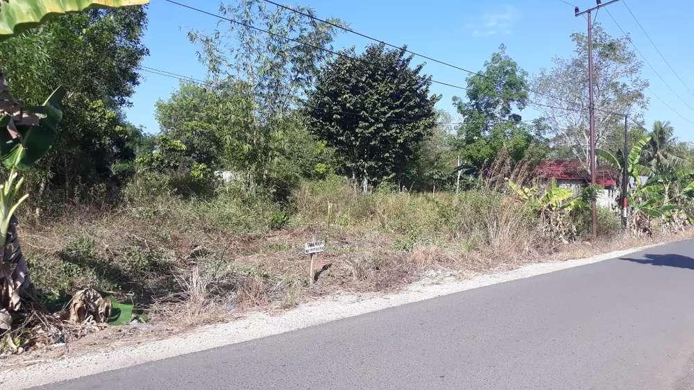 tanah kaka dijual luas 470.25 m persegi