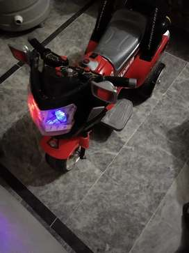 Kids chargeable electric bike
