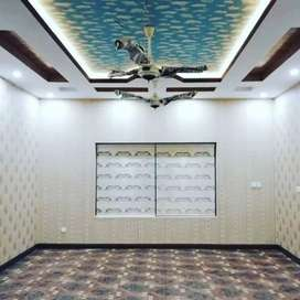 3d wooden floor Pvc wall paneling, wallpaper, wooden floor