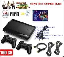 BiG ProMo || New Sony Ps3 Super Slim Black Jet 160 GB