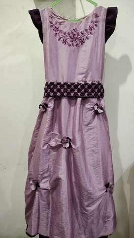 Baju dress anak thrift umur 8-10 tahun