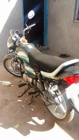 Old sale my hero deluxe top condition 90% tyre