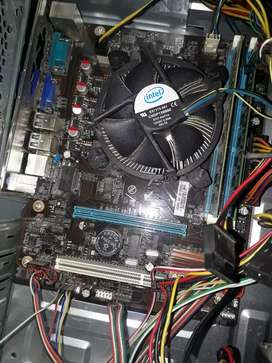 Motherboard with i5 650 cpu