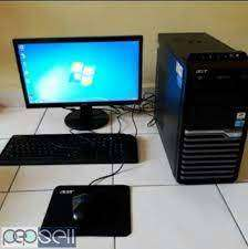 Lowest price desktop Acer dual core amd ddr3 2gb ram 250 gb hdd 19inch