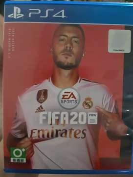 DIJUAL KASET PS 4 PS4 FIFA 20 . NO CACAT . 100% BERFUNGSI
