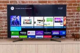 "Flat bumper discount sale offer 55"" 4k full UHD LED TV seal pack"