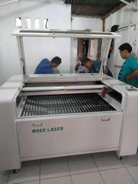 Mesin oree laser cutting cnc 1309 130watt