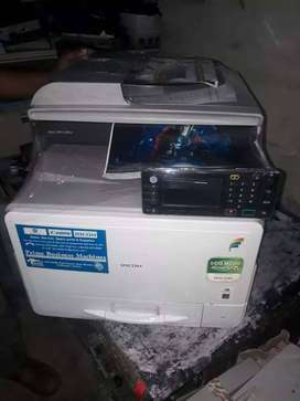 Just like new colors Photocopier with Printer and scanner available