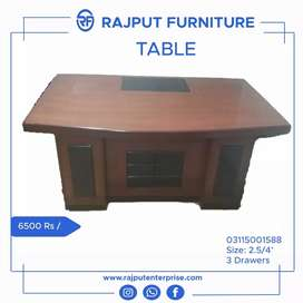 T-3/5 office manager table - Contact us for office chairs sofa also