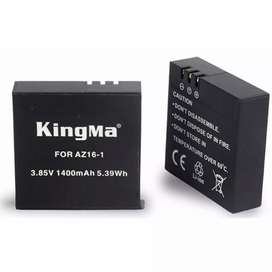 Kingma Baterai Xiaomi Yi 2 4K 1400mAh - Black