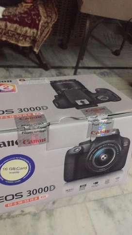 Canon 3000d DSLR