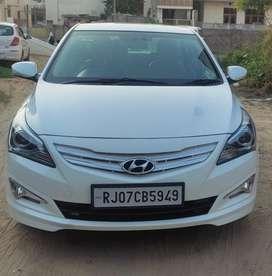 Hyundai Verna Fluidic 1.6 CRDi SX Opt, 2015, Diesel