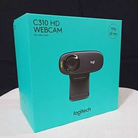 Kamera Webcam Logitech Original Asli 720P Buat Komputer Laptop PC