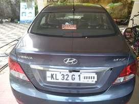 Hyundai Fluidic Verna 2014 Diesel 87000 Km Driven