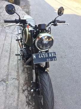 Kawasaki w 175 SE mulus sdh modif low KM