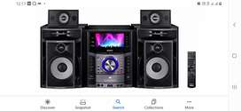 Sony music system good condition and efecteev sound clarity..