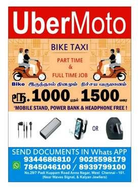 UBER MOTO BIKE TAXI ATTACHMENT OFFICE