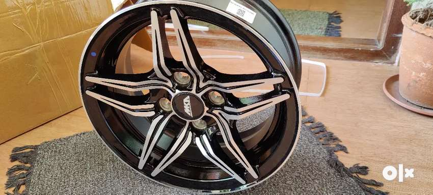 14 inch 100 pcd 4 hole unused alloy wheels for sale