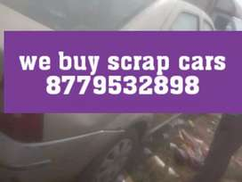 Old cars buyer in scrap