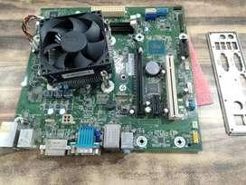 Hp branded h110 bord i5 6th gen cpu fan 13500/- 1 year warranty