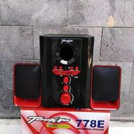 Speaker aktif bluetooth GMC teckyo 778e segel dan murah