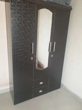 Dressing table and 3 door wardrobe for sale