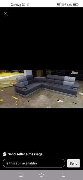 New L sofa corner