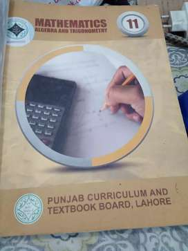Mathematics Punjab textbook for class 11