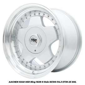 Velg Racing AACHEN H248 HSR R16X8-9 H8X100-114,3 ET30-25 SML