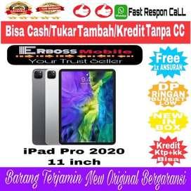 iPad Pro 2020 -[11inc/128GB/Wifi] New Apple Bisa Cash/TT/Kredit DiToko