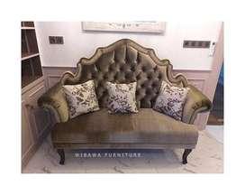 Kursi Sofa Santai Minimalis Modern Tamu 2 Dudukan