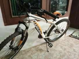 Sepeda Element warna putih