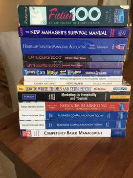 Selling Books (Service Marketing, Business Communication Today, etc.)