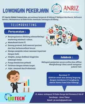 Lowongan Kerja Telemarketing Surabaya