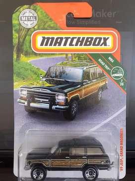 Jeep Grand Wagoneer (wrangler cheroki) Matchbox