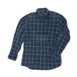 Uniqlo - flannel kotak
