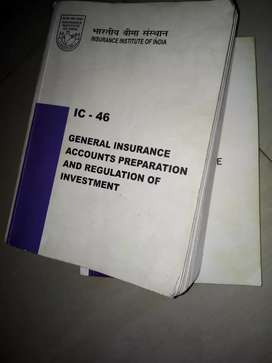 Insurance III books in excellent condition